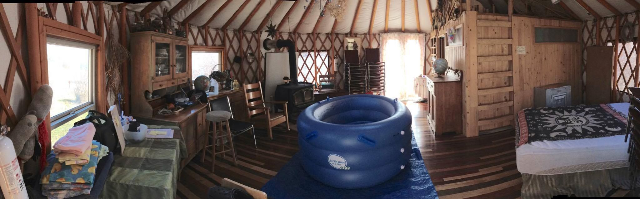 yurt birth