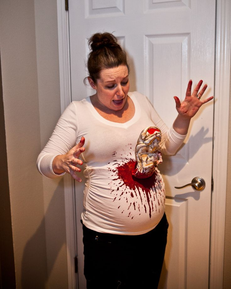 218c2bb5c509d Alien Sc 1 St The Offbeat Doula. image number 14 of easy halloween costumes  for pregnant ...